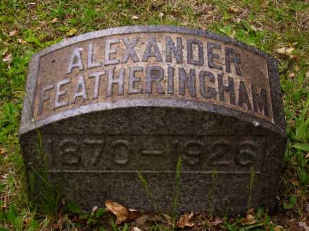FEATHERINGHAM, ALEXANDER - Stark County, Ohio | ALEXANDER FEATHERINGHAM - Ohio Gravestone Photos