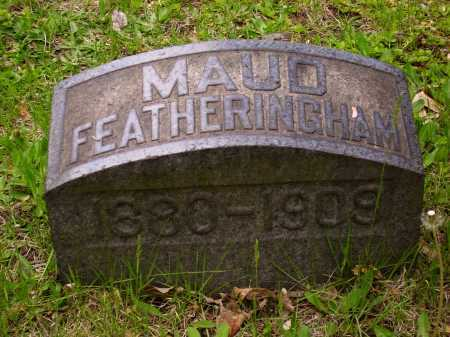 FEATHERINGHAM, MAUD - Stark County, Ohio | MAUD FEATHERINGHAM - Ohio Gravestone Photos