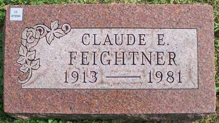 FEIGHTNER, CLAUDE E. - Stark County, Ohio | CLAUDE E. FEIGHTNER - Ohio Gravestone Photos