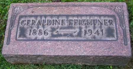 FEIGHTNER, GERALDINE - Stark County, Ohio | GERALDINE FEIGHTNER - Ohio Gravestone Photos
