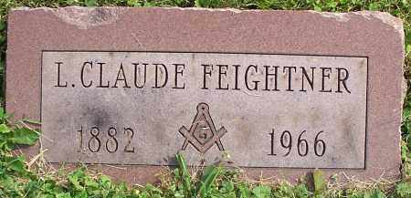 FEIGHTNER, L.CLAUDE - Stark County, Ohio | L.CLAUDE FEIGHTNER - Ohio Gravestone Photos