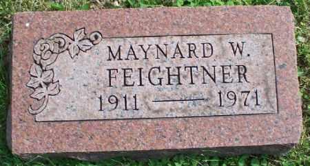 FEIGHTNER, MAYNARD W. - Stark County, Ohio | MAYNARD W. FEIGHTNER - Ohio Gravestone Photos