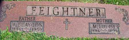 FEIGHTNER, M.LOUISE - Stark County, Ohio | M.LOUISE FEIGHTNER - Ohio Gravestone Photos