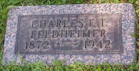FELDHEIMER, CHARLES F.T. - Stark County, Ohio | CHARLES F.T. FELDHEIMER - Ohio Gravestone Photos