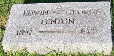 FENTON, EDWIN GEORGE - Stark County, Ohio | EDWIN GEORGE FENTON - Ohio Gravestone Photos