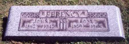 FERENCY, JOHN - Stark County, Ohio | JOHN FERENCY - Ohio Gravestone Photos