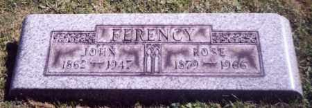 FERENCY, ROSE - Stark County, Ohio | ROSE FERENCY - Ohio Gravestone Photos