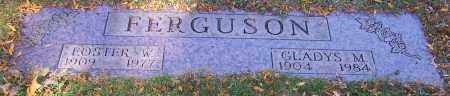 FERGUSON, FOSTER W. - Stark County, Ohio | FOSTER W. FERGUSON - Ohio Gravestone Photos