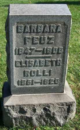 ROLLI, ELIZABETH - Stark County, Ohio | ELIZABETH ROLLI - Ohio Gravestone Photos