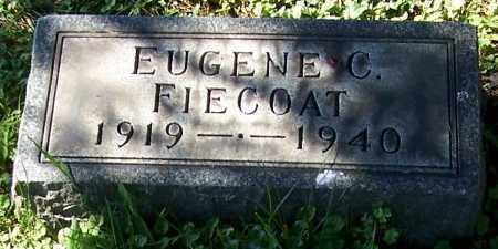 FIECOAT, EUGENE C. - Stark County, Ohio | EUGENE C. FIECOAT - Ohio Gravestone Photos