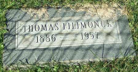 FILIMONUK, THOMAS - Stark County, Ohio | THOMAS FILIMONUK - Ohio Gravestone Photos