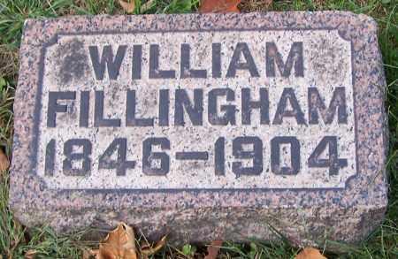 FILLINGHAM, WILLIAM - Stark County, Ohio | WILLIAM FILLINGHAM - Ohio Gravestone Photos