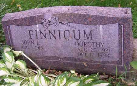 FINNICUM, JOHN L. - Stark County, Ohio | JOHN L. FINNICUM - Ohio Gravestone Photos