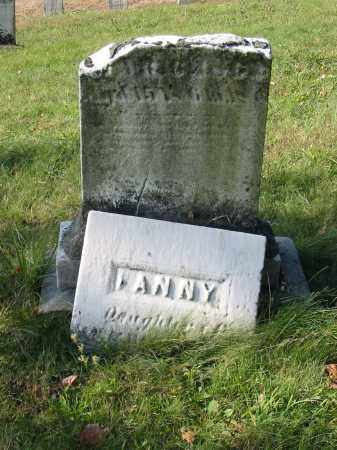 FIRESTONE, FANNY - Stark County, Ohio | FANNY FIRESTONE - Ohio Gravestone Photos