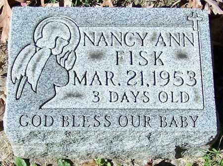FISK, NANCY ANN - Stark County, Ohio | NANCY ANN FISK - Ohio Gravestone Photos