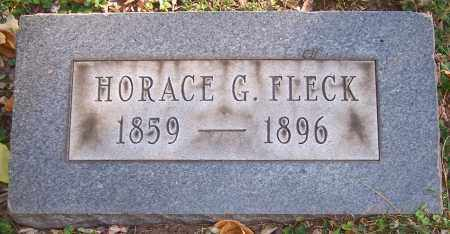 FLECK, HORACE G. - Stark County, Ohio | HORACE G. FLECK - Ohio Gravestone Photos