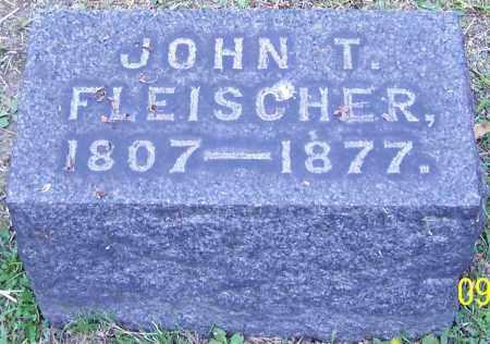 FLEISCHER, JOHN T. - Stark County, Ohio | JOHN T. FLEISCHER - Ohio Gravestone Photos