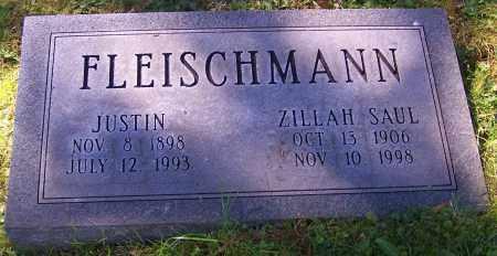 FLEISCHMANN, ZILLAH SAUL - Stark County, Ohio | ZILLAH SAUL FLEISCHMANN - Ohio Gravestone Photos