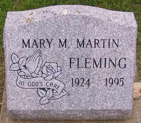 FLEMING, MARY M. MARTIN - Stark County, Ohio | MARY M. MARTIN FLEMING - Ohio Gravestone Photos