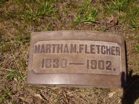FLETCHER, MARTHA M. - Stark County, Ohio | MARTHA M. FLETCHER - Ohio Gravestone Photos