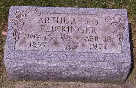 FLICKINGER, ARTHUR LEO - Stark County, Ohio | ARTHUR LEO FLICKINGER - Ohio Gravestone Photos