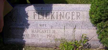 FLICKINGER, MARGARET M. - Stark County, Ohio | MARGARET M. FLICKINGER - Ohio Gravestone Photos