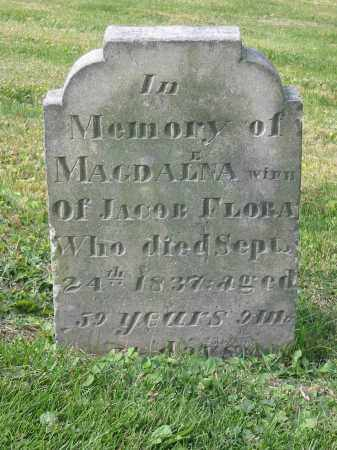 BACHTEL FLORA, MAGDALENA - Stark County, Ohio | MAGDALENA BACHTEL FLORA - Ohio Gravestone Photos