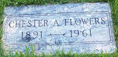 FLOWERS, CHESTER A. - Stark County, Ohio | CHESTER A. FLOWERS - Ohio Gravestone Photos
