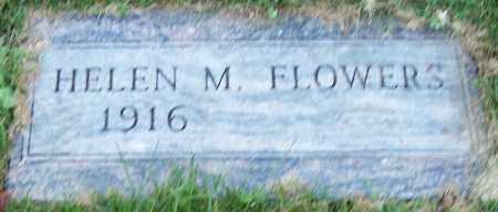 FLOWERS, HELEN M. - Stark County, Ohio | HELEN M. FLOWERS - Ohio Gravestone Photos