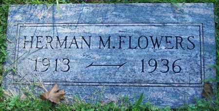 FLOWERS, HERMAN M. - Stark County, Ohio | HERMAN M. FLOWERS - Ohio Gravestone Photos