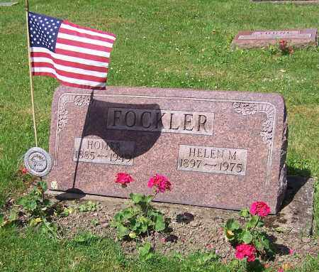 FOCKLER, HOMER - Stark County, Ohio | HOMER FOCKLER - Ohio Gravestone Photos