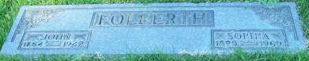 FOLBERTH, SOPHIA - Stark County, Ohio | SOPHIA FOLBERTH - Ohio Gravestone Photos