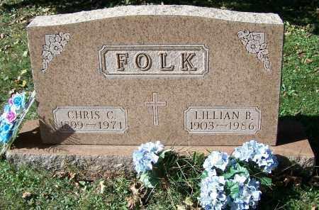 FOLK, CHRIS C. - Stark County, Ohio | CHRIS C. FOLK - Ohio Gravestone Photos