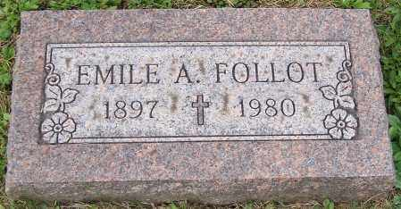 FOLLOT, EMILE A. - Stark County, Ohio | EMILE A. FOLLOT - Ohio Gravestone Photos