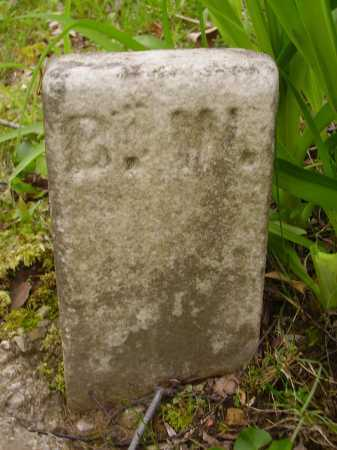 FOOTSTONE, ?. ?. - Stark County, Ohio | ?. ?. FOOTSTONE - Ohio Gravestone Photos