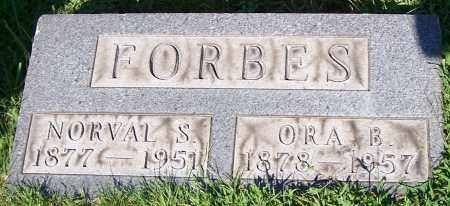 FORBES, ORA B. - Stark County, Ohio | ORA B. FORBES - Ohio Gravestone Photos