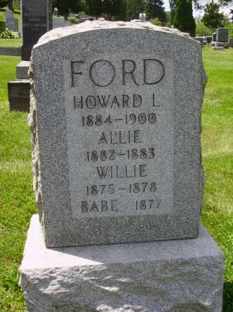 FORD, HOWARD L. - Stark County, Ohio | HOWARD L. FORD - Ohio Gravestone Photos