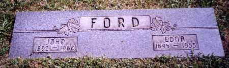 FORD, EDNA - Stark County, Ohio | EDNA FORD - Ohio Gravestone Photos
