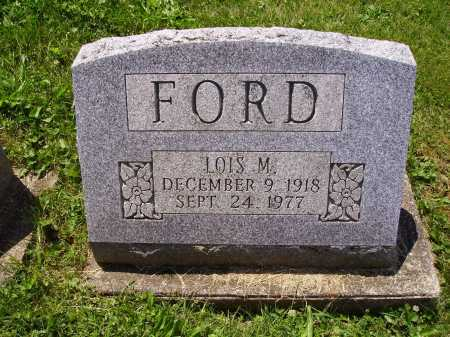 FORD, LOIS - Stark County, Ohio | LOIS FORD - Ohio Gravestone Photos