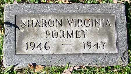 FORMET, SHARON VIRGINIA - Stark County, Ohio | SHARON VIRGINIA FORMET - Ohio Gravestone Photos
