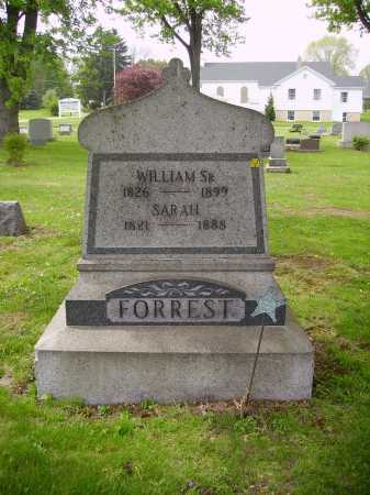 FORREST, SR., WILLIAM - Stark County, Ohio | WILLIAM FORREST, SR. - Ohio Gravestone Photos