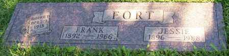 FORT, JESSIE - Stark County, Ohio | JESSIE FORT - Ohio Gravestone Photos