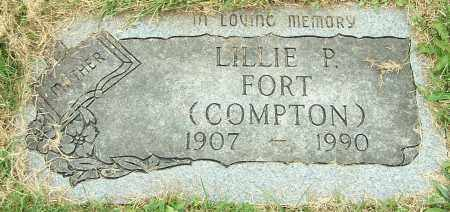 COMPTON FORT, LILLIE P. - Stark County, Ohio | LILLIE P. COMPTON FORT - Ohio Gravestone Photos