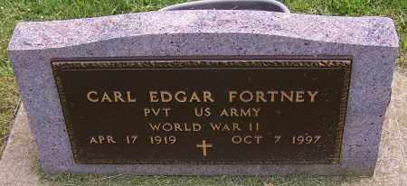 FORTNEY, CARL EDGAR - Stark County, Ohio | CARL EDGAR FORTNEY - Ohio Gravestone Photos