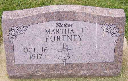 FORTNEY, MARTHA J. - Stark County, Ohio | MARTHA J. FORTNEY - Ohio Gravestone Photos