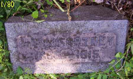 FORTNEY, MARY - Stark County, Ohio | MARY FORTNEY - Ohio Gravestone Photos