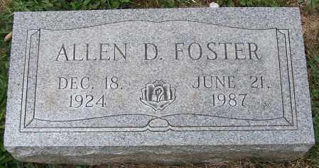 FOSTER, ALLEN D. - Stark County, Ohio | ALLEN D. FOSTER - Ohio Gravestone Photos
