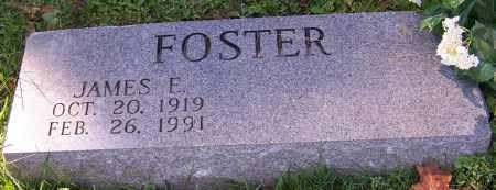 FOSTER, JAMES E. - Stark County, Ohio | JAMES E. FOSTER - Ohio Gravestone Photos