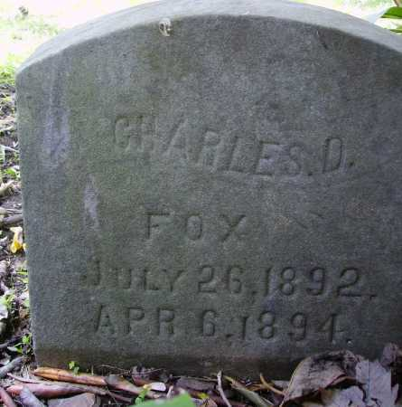 FOX, CHARLES D. - Stark County, Ohio | CHARLES D. FOX - Ohio Gravestone Photos