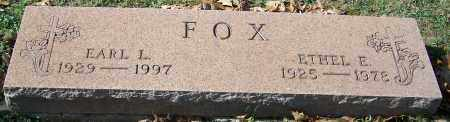 FOX, ETHEL E. - Stark County, Ohio | ETHEL E. FOX - Ohio Gravestone Photos